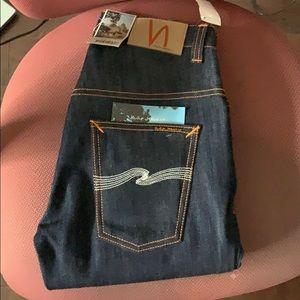 Nudie Jeans Thin Finn Raw Denim